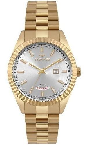 Relógio Technos Masculino Riviera Dourado 2350ad/4x