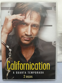 Box Dvd Serie Californication - Temp. 4 - Original