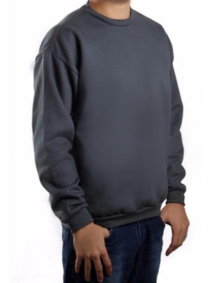 Moletom Masculino Forrado Peluciado Inverno Blusa De Frio