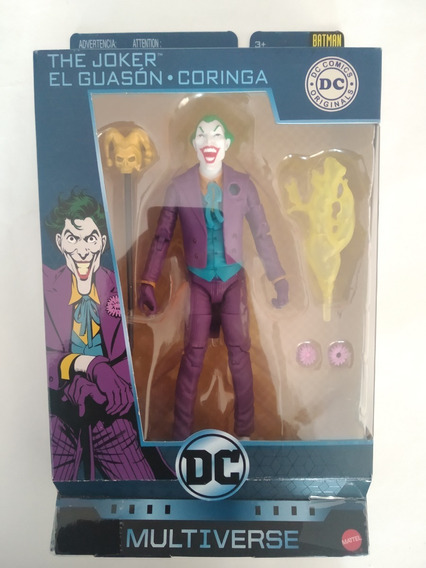 Guason Joker Dc Multiverse Batman 80 Years Mattel