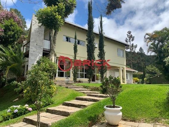 Excelente Casa De 4 Quartos Sendo 2 Suíte E Com Casa De Caseiro No Bairro Golf Em Teresópolis - Ca01248 - 34679944