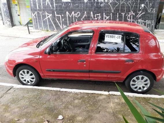 Renault Clio 1.0 8v 5 Portas Em Otimas Condicoes