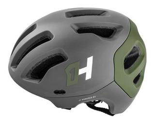 Capacete Bike Enduro Headpro G Cza/vrd Militar High One Mtb
