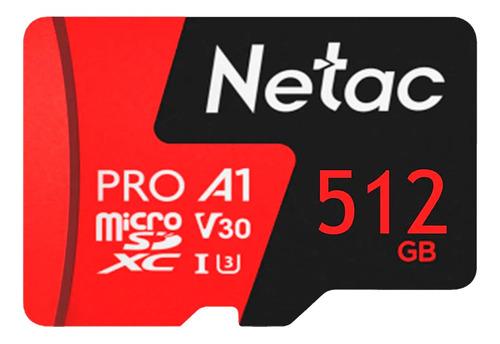 Imagem 1 de 4 de Cartão Memória Micro Sdxc 512gb Extreme Pro Netac