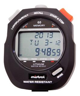 Cronómetro Mistral Cod: Swc-8365-01 Deportivo 60 Vueltas