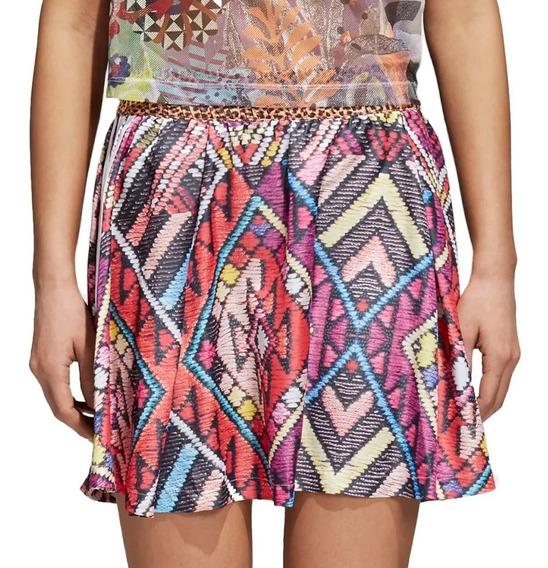 Falda Originals Farm Multi Mujer adidas Cw4727