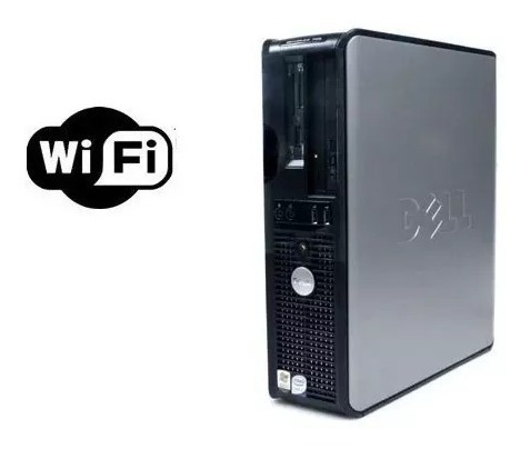 Desktop Dell Optiplex - 4 Gb Ram Ddr3 Hd 250 Gb - Wi-fi