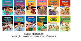 Coleção Monteiro Lobato - Turma Do Sítio Do Pica Pau Amarelo