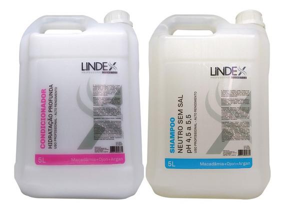 Kit Salão Shampoo + Condicionador Lavatório 5 Litro Lindex