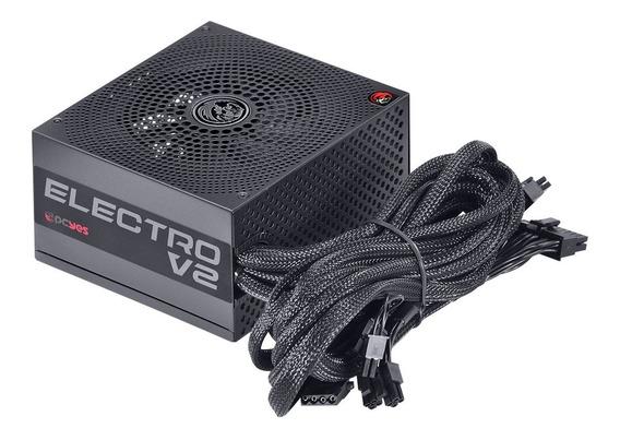 Fonte Atx 450w 80 Plus Bronze Pcyes Elecv2pto450w Electro V2