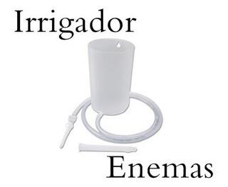 Irrigador 3 Canula Y Tubo 1 L Enema Lavativa Lavado Vaginal
