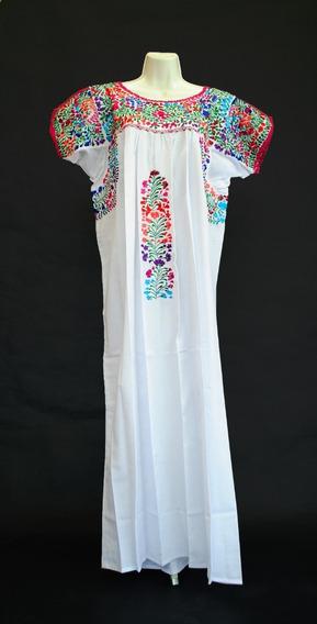 Vestido Multicolor Oaxaqueño, Hecho A Mano San Antonino...