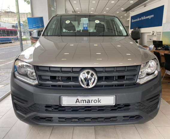 Volkswagen Amarok Trendline 4x2 0km 2020 Manual Nueva 140cv