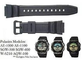 Pulseira Casio Sgw-300h Sgw-400h Melhor Preço De S. Paulo