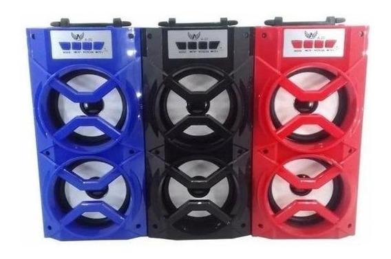 Caixa De Som Amplificada Rádio Am-fm Bluetooth Mp3