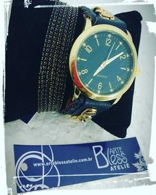 Mix Relógio Customizado Azul