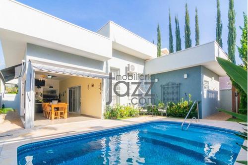 Casa Com 3 Dormitórios À Venda, 240 M² - Condomínio Villa Lobos - Paulínia/sp - Ca3302