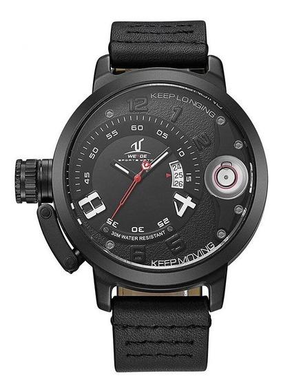 Relógio Masculino Weide Analógico Uv1606 - Preto Original