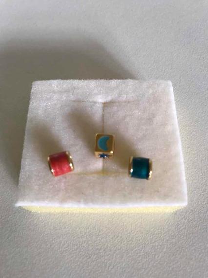 Pingente/separador Pulseira/colar Murano/banho Ouro-preço/3
