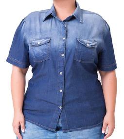 9c79576f6bccc3 Camisas Femininas Azul-marinho em Santa Catarina com o Melhores ...