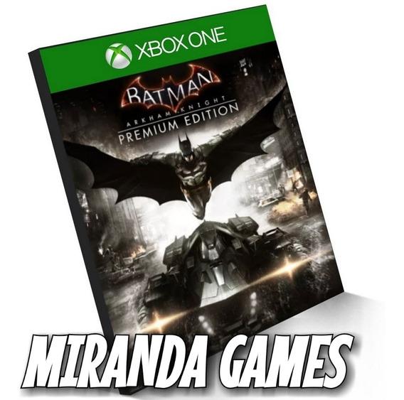 Batman Arkham Knight Premium Edition Xbox One Midia Digital
