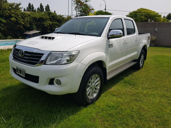 Toyota Hilux 2012 Impecable 4x4 3.0 Diesel Automatica Cuero