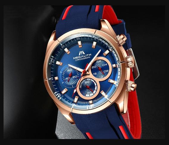 Reloj Deportivo Megalith Azul