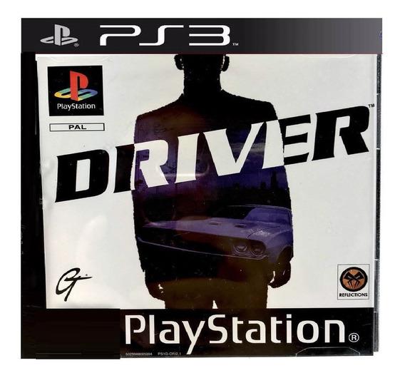 Jogo Ps3 Driver Midia Psn Classico De Ps1 Game Driver Play 3