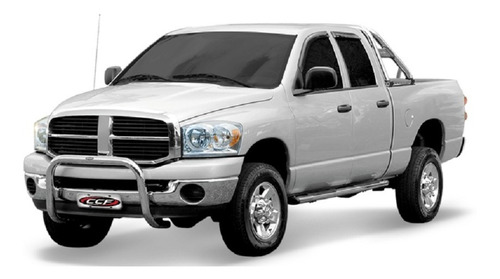 Quebra Mato (pci) Cromado Com Chapa Dodge Ram 2006 A 2011
