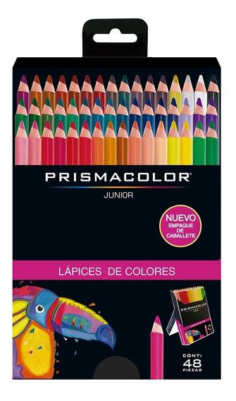 Colores Prismacolor Junior Redondos Caja X48 Punta 4mm