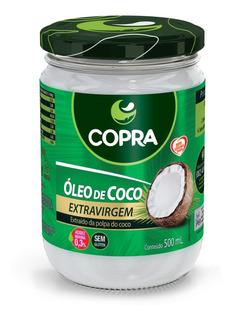 Óleo De Coco Extra Virgem 500ml Copra Original - Original
