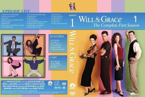 Dvd Will E Grace - Completa As 10 Temporadas Dublado