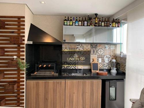 Apartamento À Venda, 86 M² Por R$ 1.050.000,00 - Vila Mascote - São Paulo/sp - Ap48133