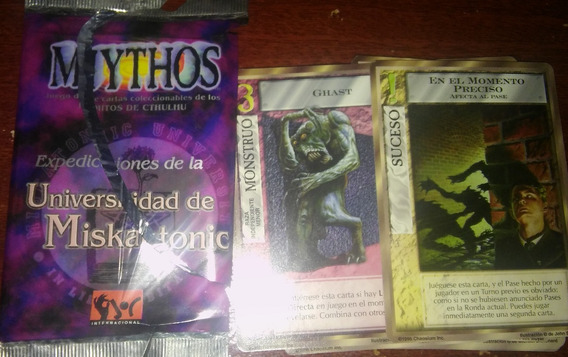 13 Cartas Mythos De Cthulhu - Lovecraft Trading Cards Dagon
