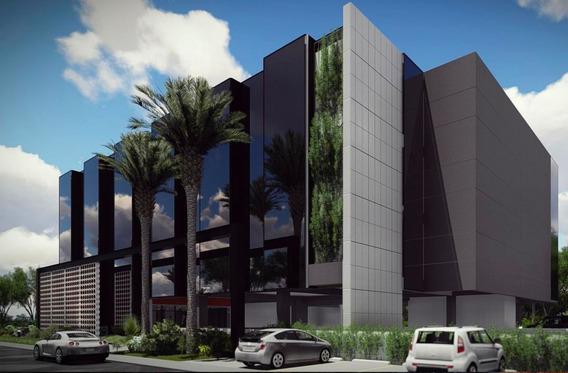 Oficina En Venta Torre Empresarial C/sala En Punta Cana 64m2