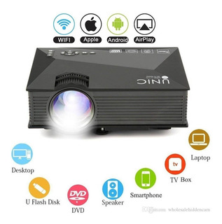 Mini Proyector Led Portatil Full Hd Potente Nuevo Hdmi, Usb.