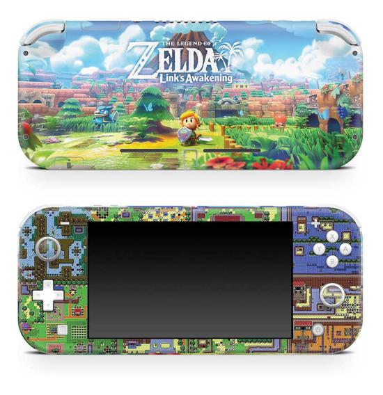 Skin Nintendo Switch Lite Adesivo Zelda Link