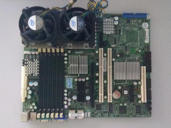 Kit Placa Mãe Para Servidor Memória Ram Xeon (defeito)