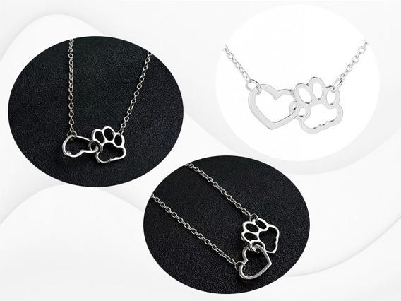 Collar De Huellita De Gato Y Perro