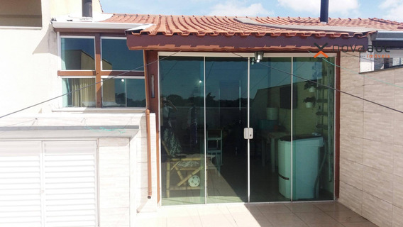 Cobertura Com 50m²+50m² E 2 Dormitórios No Parque Capuava Por R$315.000! - Santo André - Co0331