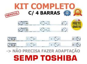Kit C/4 Barras Semp 32l2400 Dl3244 Dl3253 Dl3245i Oferta
