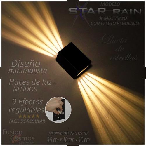 Bañador Pared Efecto Simil 10 Rayo Laser P/ Led Luces Bar Dj