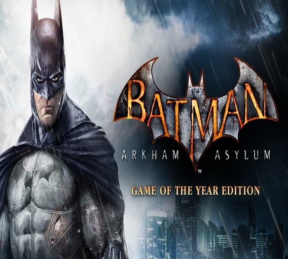 Batman Arkham Asylum Pc Original Key Steam Game Of The Year