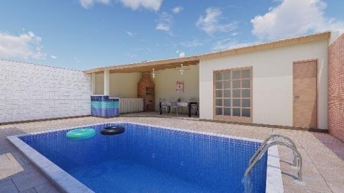 Casa Em Itanhaém Ficando 300m Do Mar Com 120m² 5463alexandre