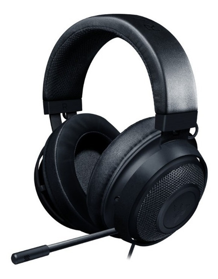 Headset Gamer Razer Kraken Black Multi Platform