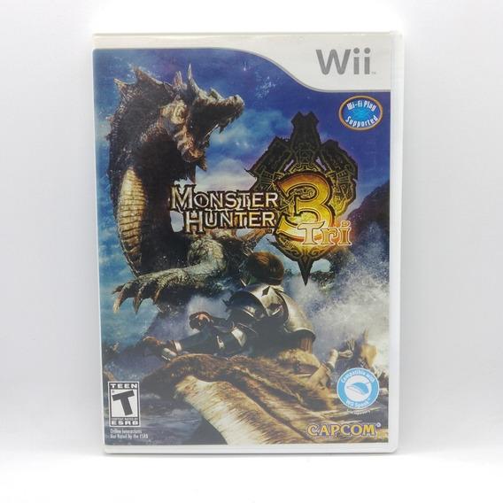 Monster Hunter Tri Nintendo Wii Midia Fisica Original Jogo