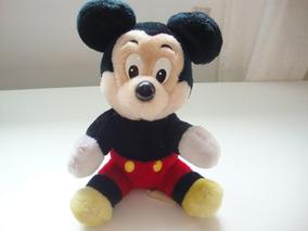 Pelúcia -original E Rara - Mickey - Walt Disney World - 20cm