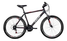 Bicicleta Caloi Aluminum Sport Aro 26, 21 Marchas Mtb, Preta