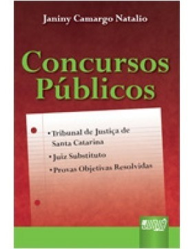 Tribunal De Justiça De Santa Catarina - Concursos Públicos