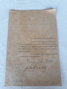 Carta Patente Feb Capitão Edulo Jorge Melo Foto-informação